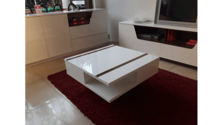 OUTLET – Ława Rimini Premium 80×80 z szufladami