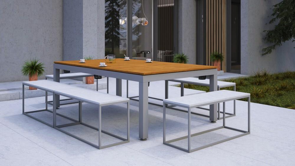 Blat nakrywający stół bilardowy - opcja stołu biesiadnego
