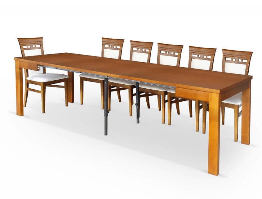 Stół Ambasador A-Stół 90/290 Maxi rozk.+wkł. 3x67
