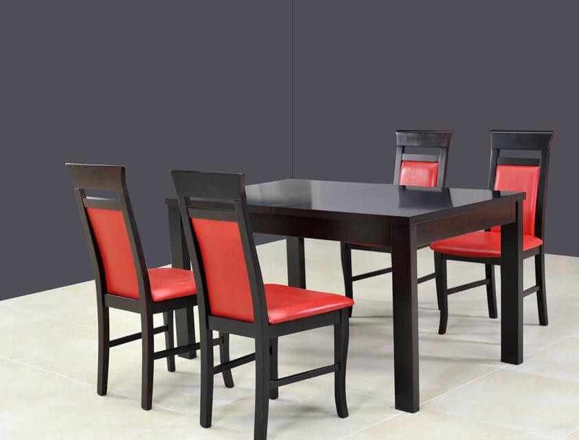 Stół rozkładany do jadalni Ambasador A-Stół rozk. 160/230+wkł. 70