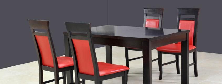 Stół rozkładany do salonu Ambasador A-Stół rozk. 160/230+wkł. 70