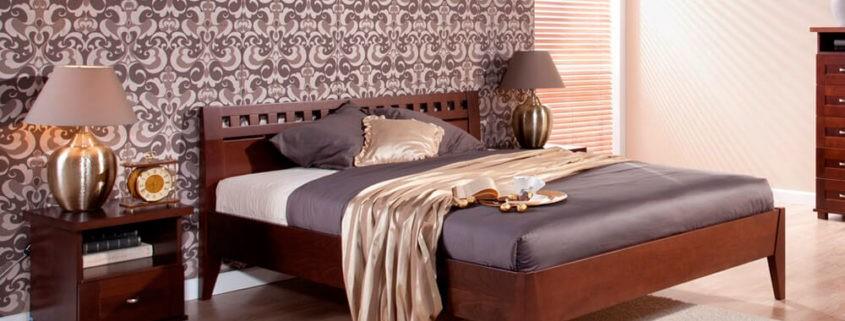 Łóżko do sypialni Ambasador pod wymiar materaca 140x200