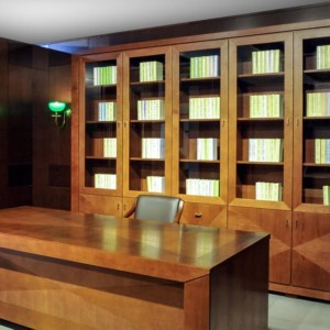 Biblioteka 290 z intarsją – CUBE
