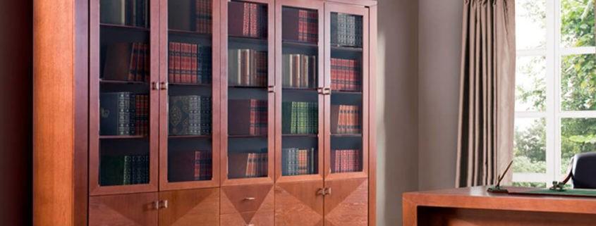 Biblioteka Cube C-Biblioteka 290 z intarsją