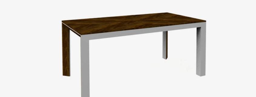 RIMP-Stół rozkładany 180/240 metal