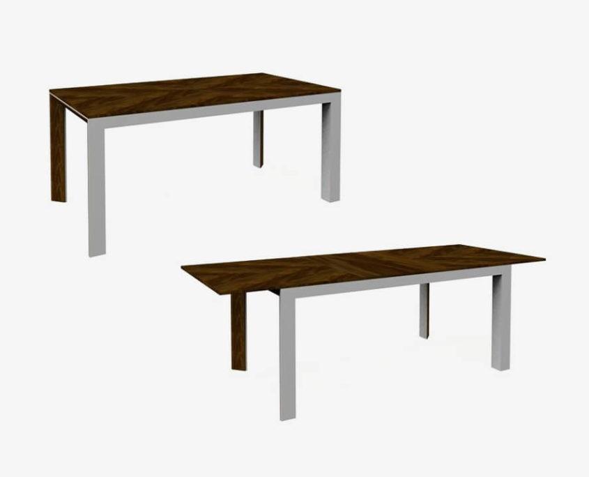 Rimini Premium stół rozkładany metalowy