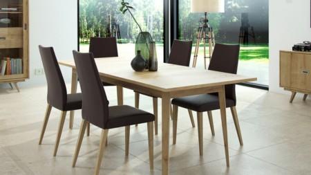 Stół rozkładany 150 / 195 cm – SAGA