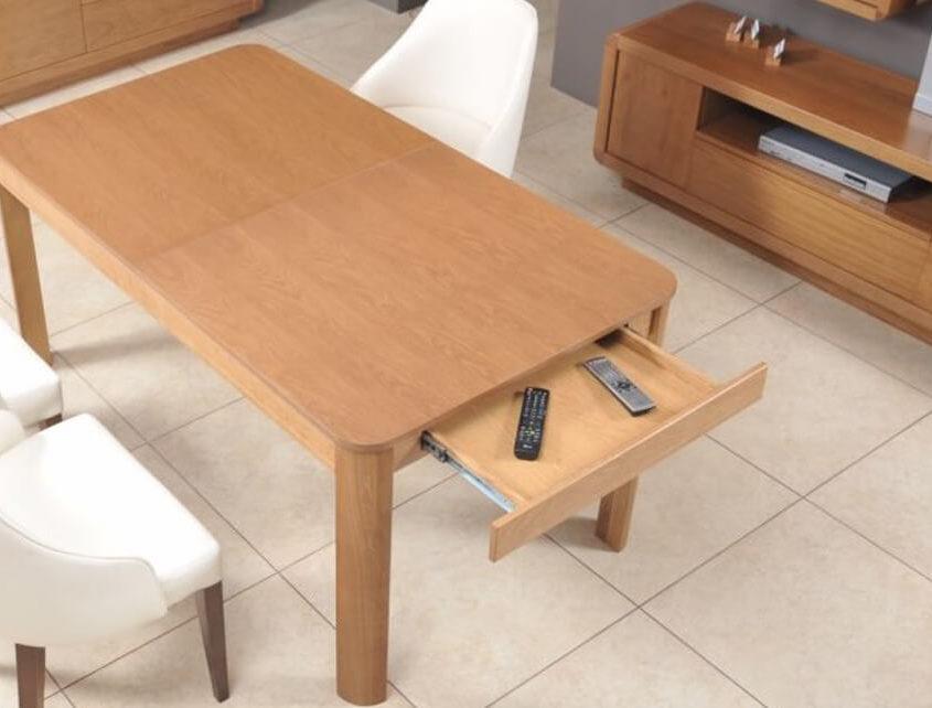 Stół San Marino SM-Stół 160/210 rozk. 2cz.+wkładka 50