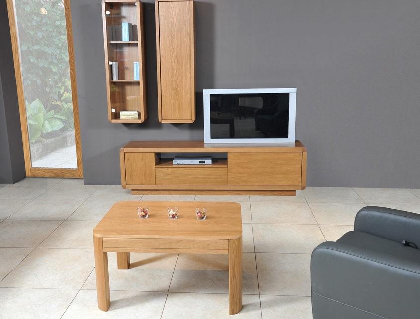 Ława do salonu San Marino SM-Ława 90x60 z szufladką