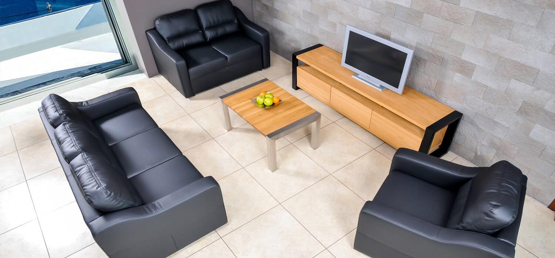 Sofa fotele zestaw mebli do salonu