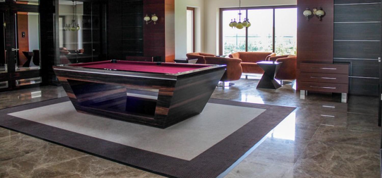 Ekskluzywny stół do bilarda według projektu