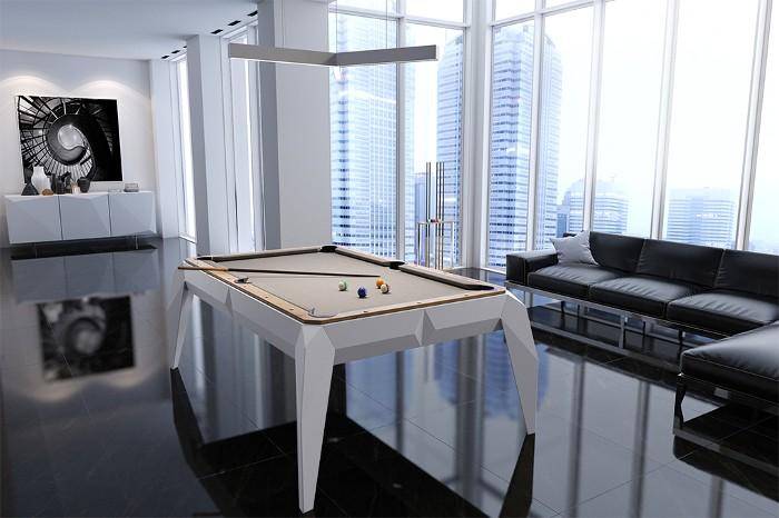 dizajnerski stół bilardowy