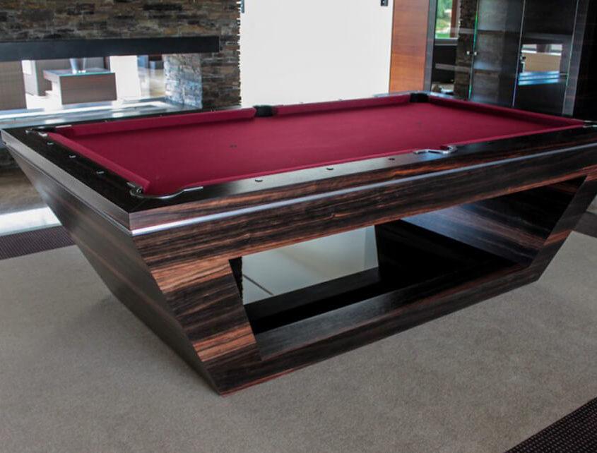 Ekskluzywny stół do bilarda wg projektu