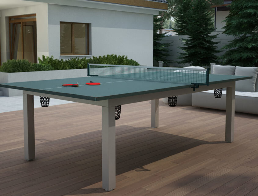 Stół do bilarda z blatem Ping Pong Vermont Outdoor 7ft