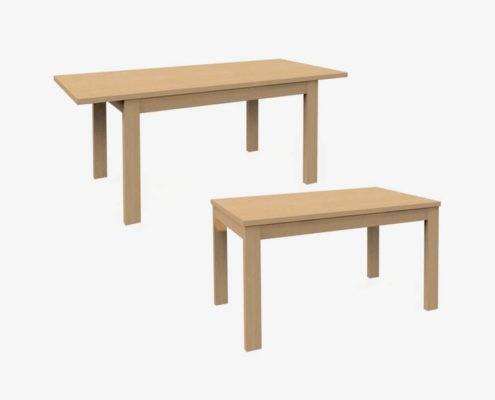 A-Stół rozkładany 140/190+wkł. 50
