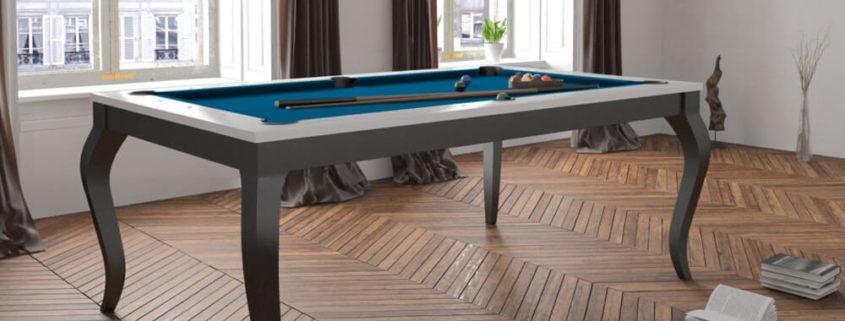 Stół do bilarda w klasycznym włoskim stylu