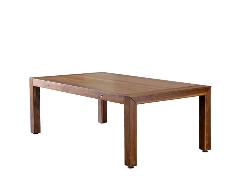 Stół bilardowy z drewna orzechowego
