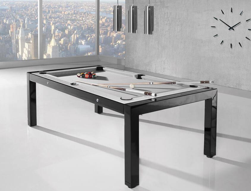 Nowoczesny stół do bilarda na wysoki połysk