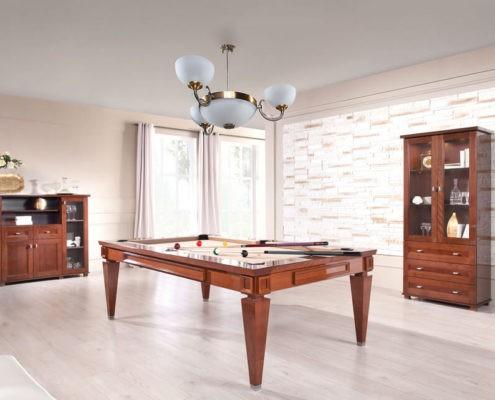 Klasyczny stół do bilarda