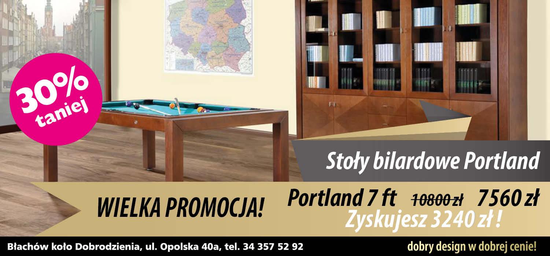 Stół do bilarda Portland