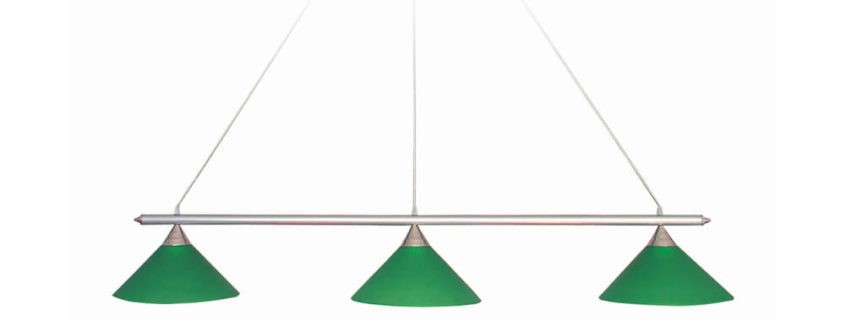 Lampa Omega 3-kloszowa