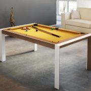 stół bilardowy w orzechu amerykańskim