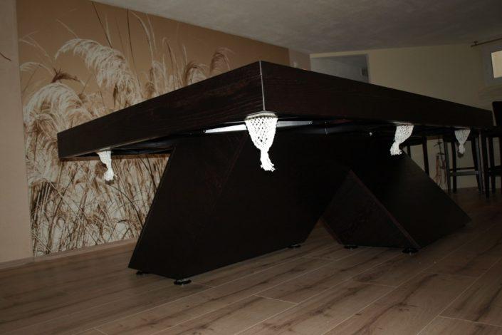 Stół bilardowy według projektu klienta