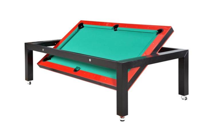 Wielofunkcyjny stół bilardowy na kółkach