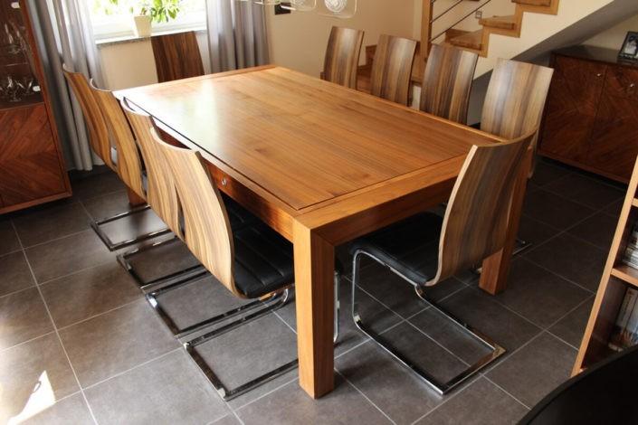 Stół bilardowy Portland orzechowy