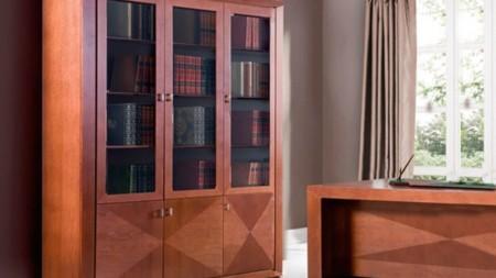Cube biblioteka 185 z intarsją