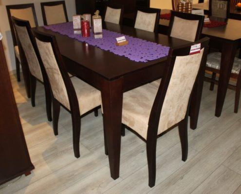 Stół krzesła zestaw mebli do jadalni outlet