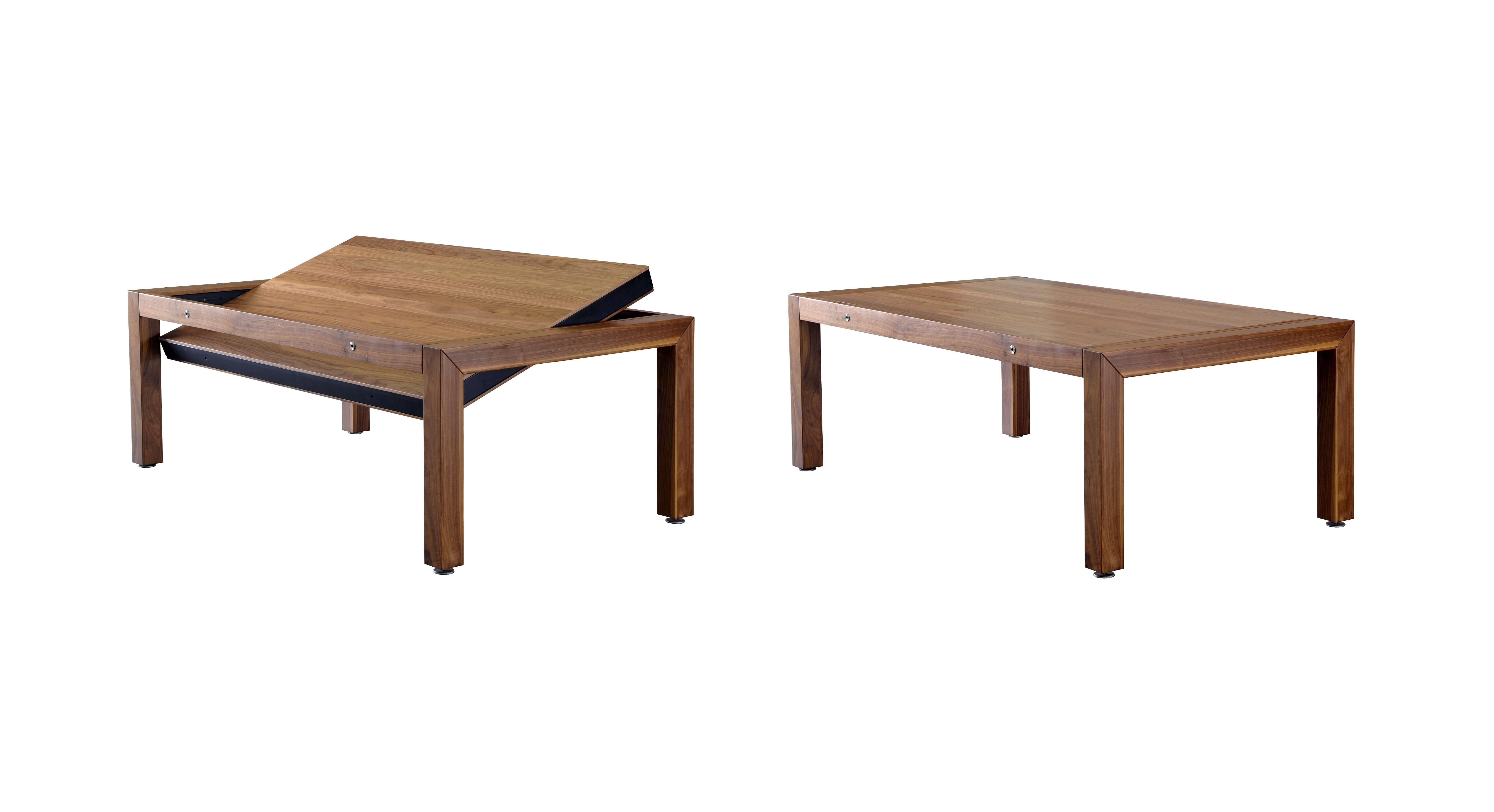 Stół do bilarda Portland orzech