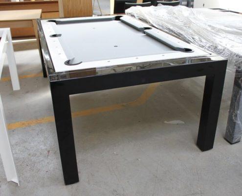 Stół bilardowy Portland biało czarny outlet