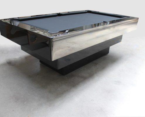 Stół do bilarda czarny połysk