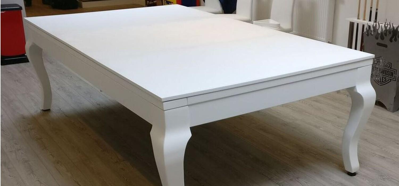Stół do bilarda biały