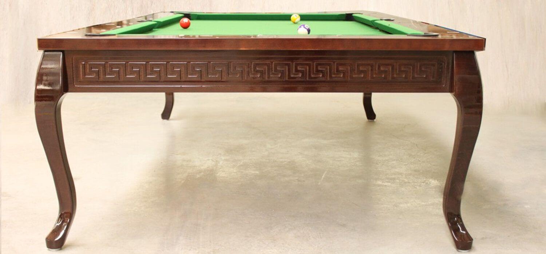 Stół do bilarda Venezia z greckim wzorem