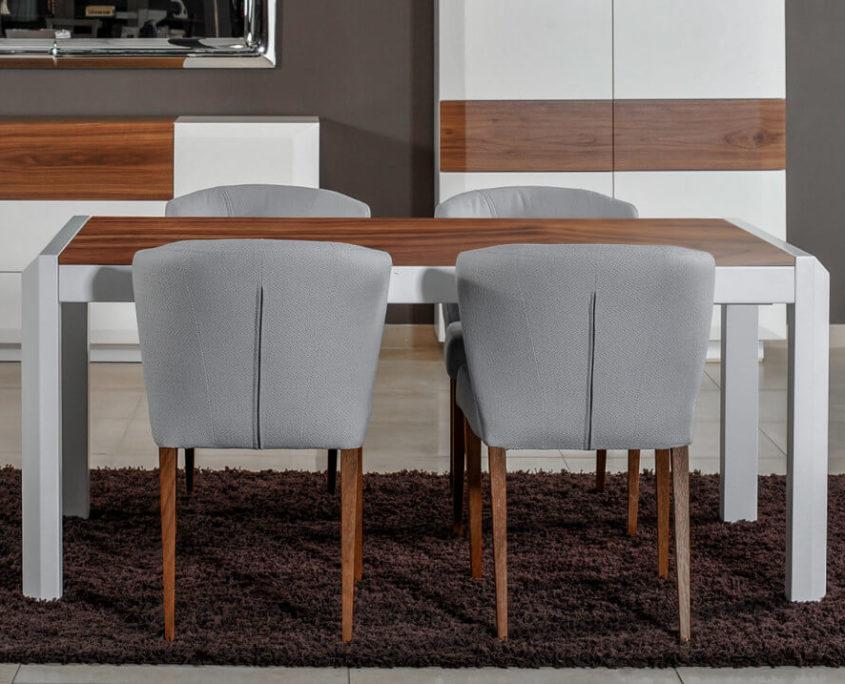 Diamond stół z krzesłami