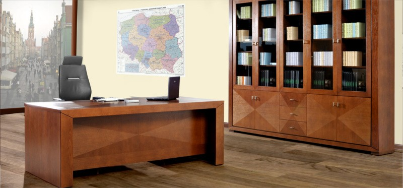 biurka do biura - stylowe biurka biurowe