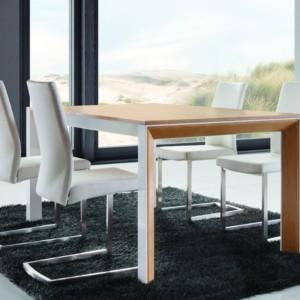 Stół jadalniany rozkładany metalowy 180 / 240 cm – RIMINI STANDARD – Lissy