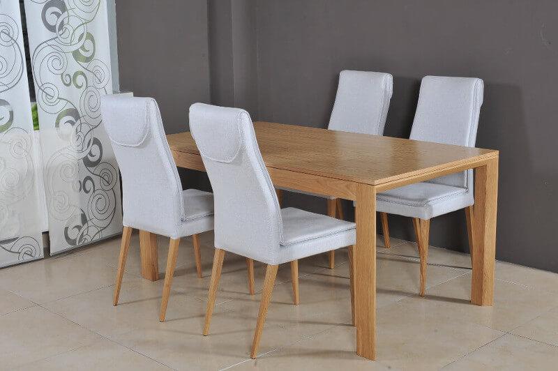 Stół Monaco krzesła Geneva Komfort