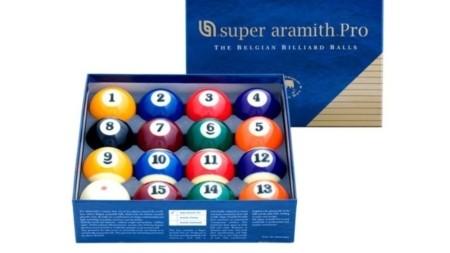 Komplet bil Pool 57,2 Super Aramith Pro