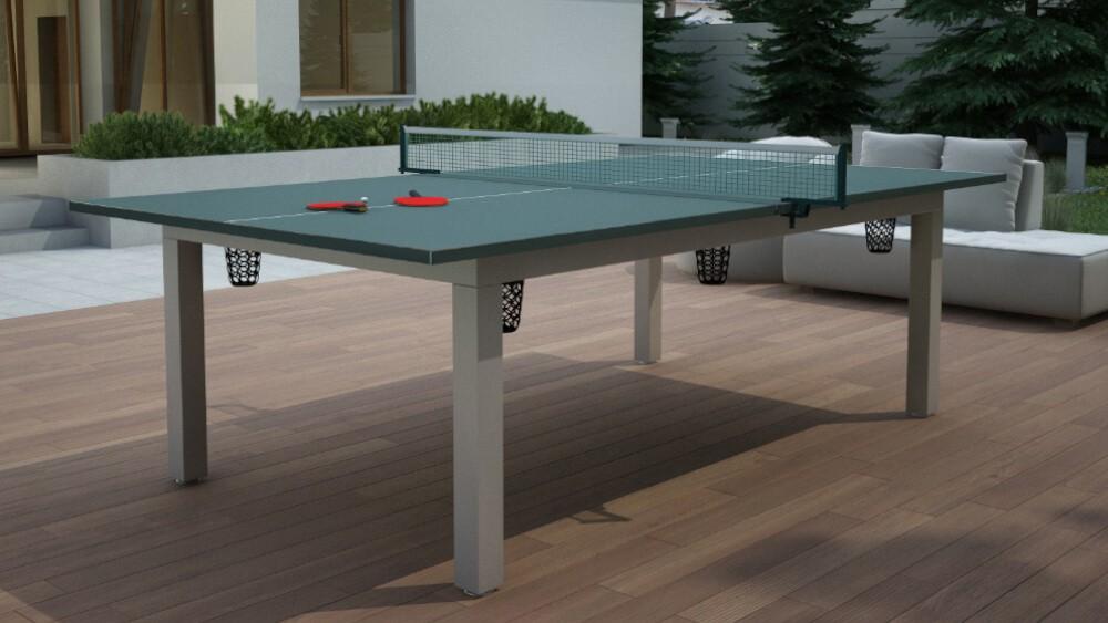 Blat nakrywający stół bilardowy - opcja stołu do tenisa (Ping-Ponga)