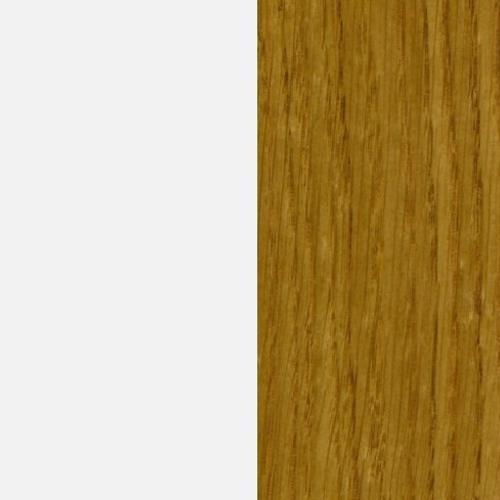 Biały połysk (MG-01/P) / dąb naturalny (D-00)
