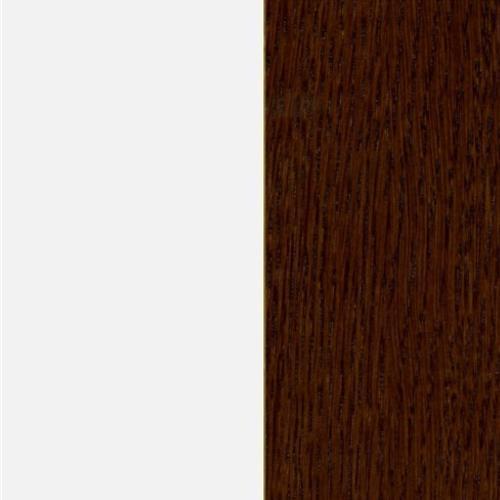 Biały połysk (MG-01/P) / dąb kasztanowy (D-04)