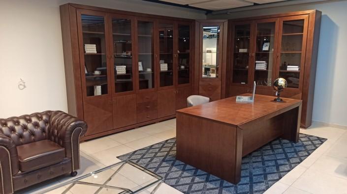Biblioteka, biurko