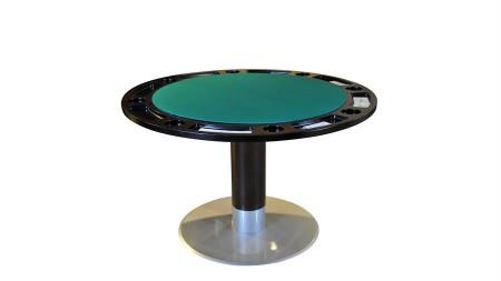 Stół okrągły 130 do pokera Lissy