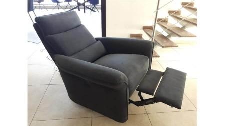 OUTLET Fotel LARINO z elektrycznym relaksem