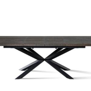 Stół IMPERIAL 160 / 200 cm rozkładany (wstawka 1 x 40 cm) – Lissy