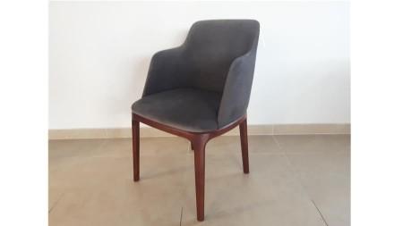 OUTLET Krzesło GRENADA z podłokietnikiem