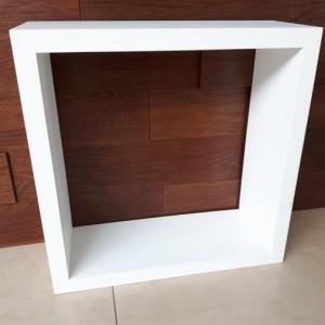 OUTLET – Półka kwadratowa biała
